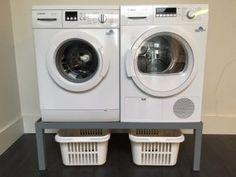 Wasmachine Kast Leenbakker : Onze mooie wasmachine en droger verhoging met ikea wasmanden