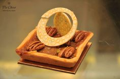 Pecan nut and #honey tart - a nutty delight from The Oberoi Patisserie &Delicatessen!