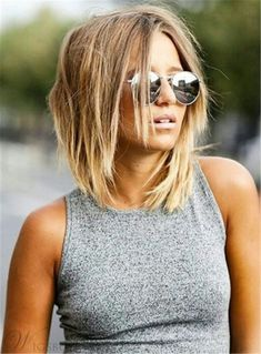 Blunt Cut Shoulder Length Straight Human Hair Lace Front Women Wigs 10 Inches – # Wigs – # Straight # Wigs # Tiered # Inch Related Best Short Haircut for Women Short Shag Haircuts, Hairstyles With Bangs, Straight Hairstyles, Haircut Short, Hairstyle Ideas, Haircut Styles, Medium Shaggy Hairstyles, Urban Hairstyles, Wave Hairstyles