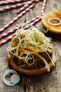 Coca Pulled Pork Sandwich