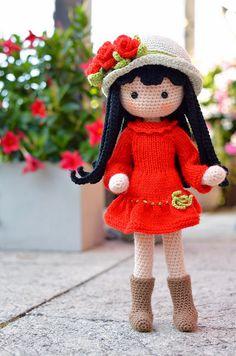 Watch This Video Incredible Crochet a Bear Ideas. Cutest Crochet a Bear Ideas. Cute Crochet, Crochet Crafts, Crochet Toys, Crochet Baby, Crochet Projects, Diy Crafts, Crochet Dolls Free Patterns, Crochet Doll Pattern, Amigurumi Patterns