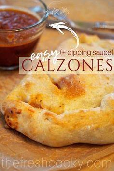 Empanadas, Pizza Recipes, Cooking Recipes, Freezer Recipes, Quiche, Calzone Recipe, Good Pizza, Pizza 101, Pizza Pizza