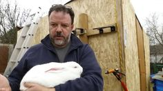 Raising Meat Rabbits: Humanely Slaughter a Rabbit using the Hopper Popper - YouTube