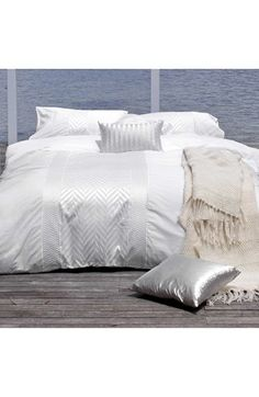 KAS Designs 'Herringbone' Bedding Collection available at #Nordstrom