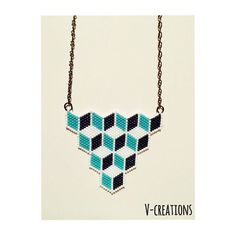 Et voilà ..... #collier #necklace #instajewelry #instabijoux…