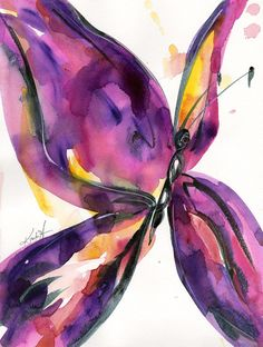 ARTFINDER: Butterfly Song No. 51 by Kathy  Morton Stanion