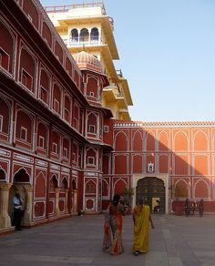 Chandra  Mahal - Jaipur City Palace. INDIA.    (by FabIndia, via Flickr)