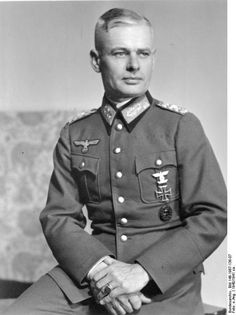 General Erwin Vierow, winner of the Knight's Cross of the Iron Cross, was appointed on July 1, 1943 commander of the German army in northwest France. He held this command until September 1944 when he was appointed chief of the ad hoc 'General Command Somme'. He held this post until he was captured by the British and was transferred to POW camp in Mississippi, United States.He was eventually returned to Germany where he died at the age of 91 in 1982.