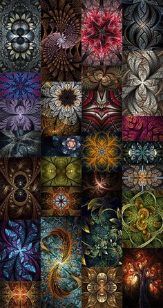 30 Mind Blowing Pieces of Algorithmic Fractal Art Fractal art is a fascinating genre of digital art Graphic Wallpaper, Colorful Wallpaper, Nature Wallpaper, Wallpaper Backgrounds, Wallpapers, Fractal Images, Fractal Art, Fractal Design, Pattern Wallpaper