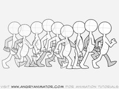 Get away from RubberHose (or any software for that matter) and learn walks from a traditional animator.