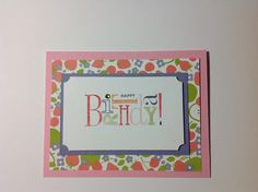 Flash cards cased from Connie Stewart #simplysimple. Thanks for the inspiration Connie!