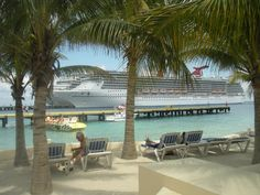 Great spot to sit in the shade and just people watch. Carnival Legend Mexico Port