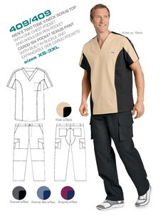 Men's Scrub Uniforms | Medical Wear | Dixie Uniforms Canada