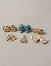 Peace, sugar skulls and crosses - Pull United Kingdom - WOMAN - JEWELLERY