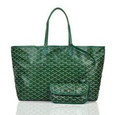 Sac Goyard St. Louis GY308 Vert 1.Marque  : goyard 2.Style  : Goyard St. Louis 3.couleurs :Vert 4.Matériel :PVC avec cuir 5.Taille: L40 x H30x W15 cm