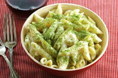This is a delicious, super quick side or main dish. I got it from the back of a pasta box and it is yummy!