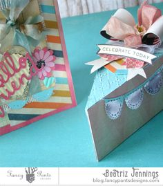 Fancy Pants Designs Studio by Beatriz  Cute card and paper cake design using As You Wish collection...awesome!