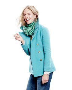 Coat color is fab