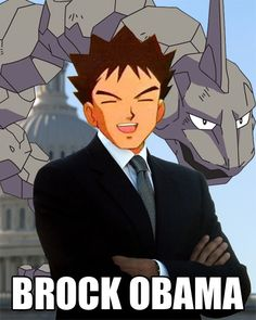 Brock Obama. - best picture on the freeking internet!>>> I don't like Obama ,but this is funny!