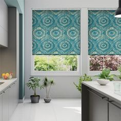 Choices Bocca Teal Roller Blind%20from%20Blinds%202go