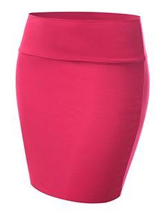 fed1655c5 J.TOMSON Women's Solid & Print Mini Skirt w/ Elastic Waist NEONLIME XS at Amazon  Women's Clothing store: