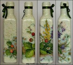 DEKOPUAJ EXAMPLES - 10marifet((bottles-beautiful-jars))