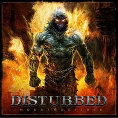 DISTURBED - INDESTRUCTIBLE LP-Sealed-New Record on Vinyl Track Listing - Indestructible - Inside The Fire - Deceiver - The Night - Perfect Insanity - Haunted - Enough - The Curse - Torn - Criminal - D