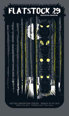 Flatstock 29 - Original screenprinted poster