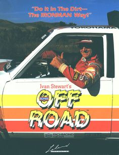 The Arcade Flyer Archive - Video Game Flyers: Ivan IRONMAN Stewart's Super Off-Road, Leland Corporation
