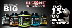Big One Nutrition Provides Heavy Discount & Offers A Carry Bag. Big One is a leading Indian manufacturer and supplies of quality fitness and sports nutrition - Good Sources Of Protein, Rich In Protein, Protein Nutrition, Sports Nutrition, Mass Gainer, Online Coupons, Nutritional Supplements, Types Of Food, Carry On Bag