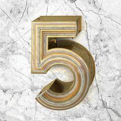 Creative Typography by Six & Five Studio