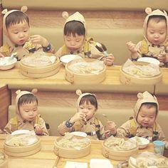 Daehan, Minguk, Manse the 3 hungry bears | The Return of Superman
