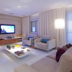 Sala de estar grande de Marcia Varalla - 23327 no Viva Decora