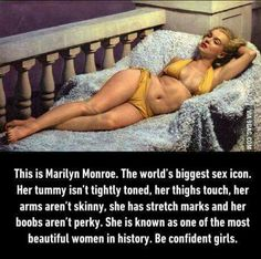 Be confident, girls. ❤