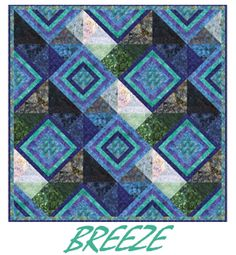 Free BREEZE Quilt pattern from Anthology Fabrics
