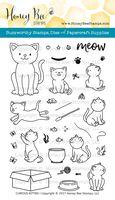 Curious Kitties | 4x6 Stamp Set