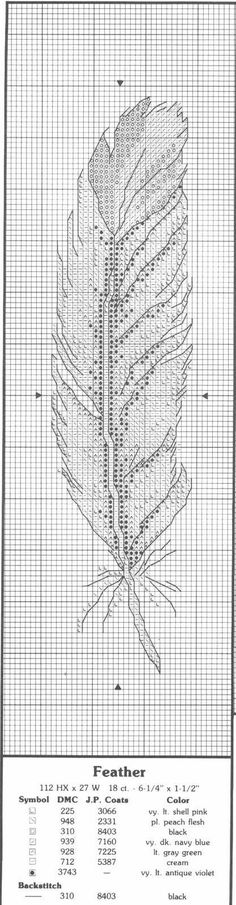 Bookmark Feather