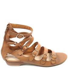 Leather Usman Sandals Rust