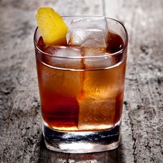 The Ginger Rabbit: a slightly sweeter version of a bourbon Old Fashioned with ginger, black tea simple syrup and Crème Yvette.