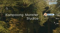 Kampoong Monster Blender Showreel 2014