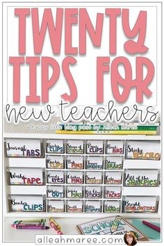 20 Tips for New Teachers