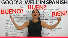 'Good' & 'well' in Spanish: Bueno, buen, or bien?