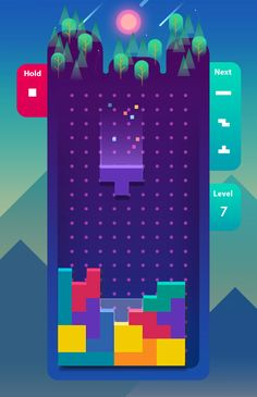 Tetris is getting a daily competitive game show with cash prizes - The Verge Hq Trivia, Game Ui Design, Just A Game, Cash Prize, Game App, Mobile Game, Design Reference, Graphic Design Inspiration, Board Games