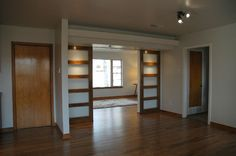 great sliding doors with windows. An option to seperate the playroom and living room. Grace for space saving. | Doors | Pinterest | Sliding door ... & great sliding doors with windows. An option to seperate the playroom ...