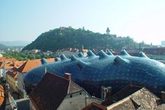 Austria's Blob-Shaped Kunsthaus Graz Art Museum Generates its ...
