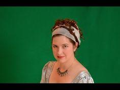 Authentic Napoleonic Hairstyle: Madame Recamier - YouTube