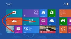"""Windows 8 - Touch Screen Interface Guide for Beginners [Tutorial]-Published on Jan 2, 2013 This video tutorial shows those new to Windows 8 the basics needed to get around the new Windows 8 user interface using the touch interface. The Windows """"Start Menu"""" has been replaced by the """"Start Screen"""" & """"Charm Bar"""".-VERY GOOD."""