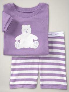 Gap has some summer PJs out already!  I love their sleepwear.