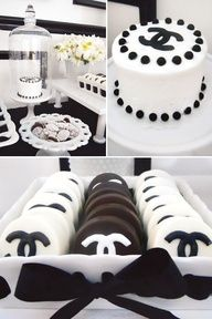Chanel Themed Birthday Party by Createur de Classe Magazine