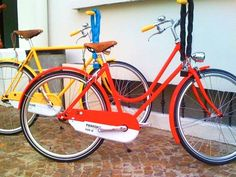 Pantone bikes- want this in PINK!!!